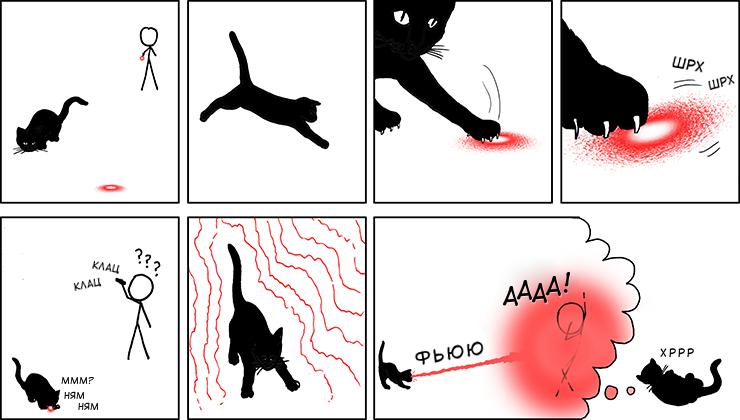 игры с лазером