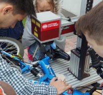 Лазерная маркировка обеспечит более быстрый поиск похищенного велосипеда и его частей  + видео