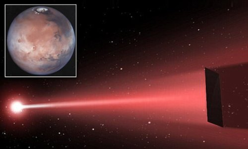 Мощные лазеры позволят космическим кораблям добираться до Марса за три дня  + видео