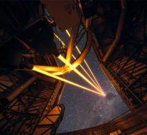Телескоп VLT начинает использовать свое лазерное «супероружие»