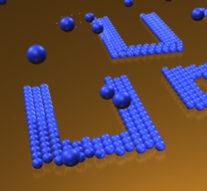 Создана лазерно-пузырьковая «ручка», способная «писать» наночастицами, размером в 1 нанометр  + видео