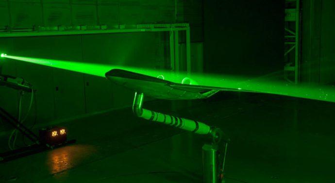 NASA применило лазеры для создания нового самолёта