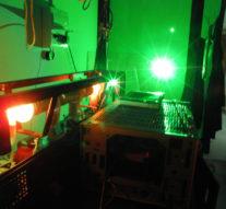 Лазерный монитор, позволяющий видеть сквозь пламя