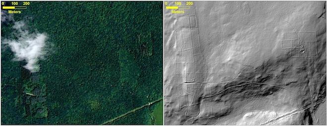 Космические лазеры помогли совершить археологические открытия