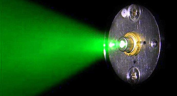 Новосибирские учёные разрабатывают лазеры в зелёном диапазоне