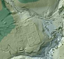 Лазеры помогли увидеть древнеримское строительство