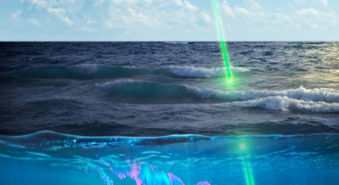 NASA использует космический лазер для слежения за уровнем планктона в Арктике