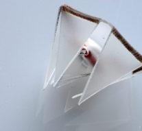Исследователи научились складывать оригами светом лазера +видео