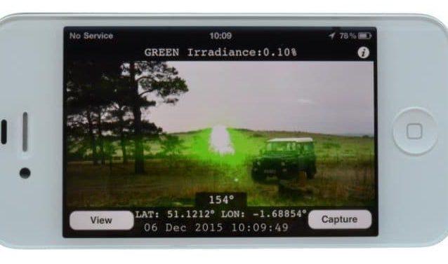 Смартфоны научились находить источник ослепляющего лазера
