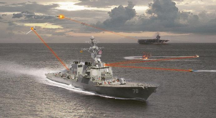 Флот США шлет всем лучи
