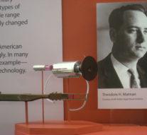 16 мая 1960 год – Теодор Мейман запустил свой первый твердотельный лазер