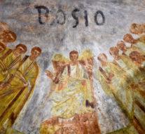 Фрески из катакомб Домициллы очищают лазером