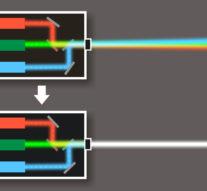 Учёные впервые сконструировали монолитный RGB-лазер
