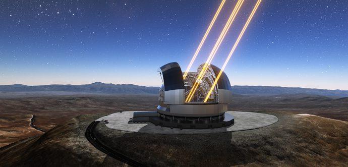 Чрезвычайно Большой Телескоп получит передовую систему адаптивной оптики