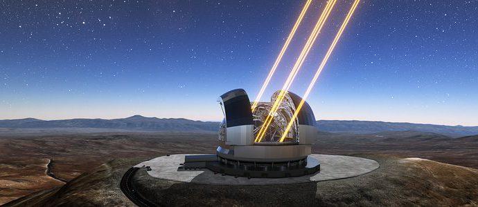 В ESO подписан контракт на изготовление лазерных источников для телескопа ELT