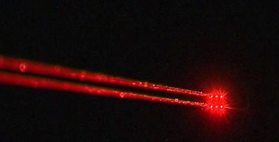 В Самаре сажают самолеты с помощью лазеров