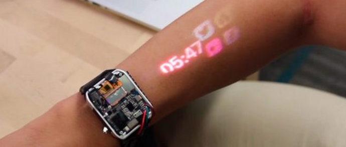 Смарт-часы LumiWatch делают из руки сенсорный экран