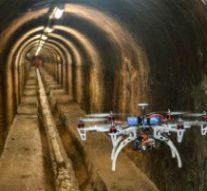 Дрон с 3D-камерой и 2D-лазером использовали для обследования коллектора в Испании