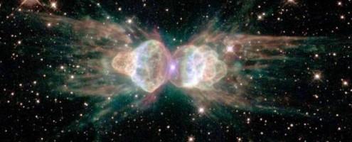 Астрономы обнаружили необычный лазерный лучизтуманности Муравей