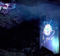 Лазерная подсветка украсила Кунгурскую пещеру