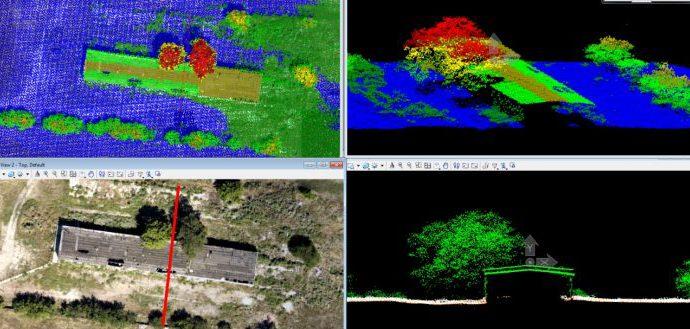 Сравнение пригодности данных воздушного лазерного сканирования и аэрофотосъмки с БПЛА для обеспечения проектных работ