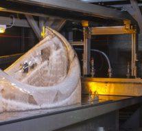 3D лазерная печать полноразмерной реплики скелета мамонта
