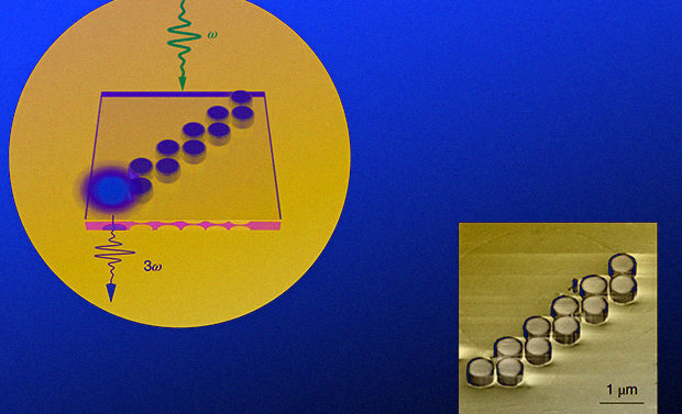 Физики впервые изготовили топологические наноструктуры для нелинейной генерации света