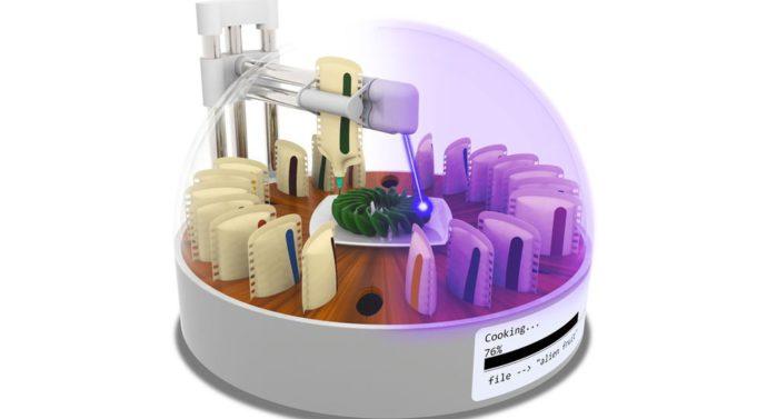 3D-принтер научили печатать продукты для пищи. И сразу же ее готовить!