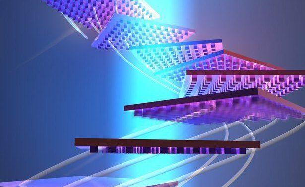 Наноузоры помогут поднять с помощью света большой объект