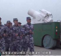 Китай показал собственный боевой лазер