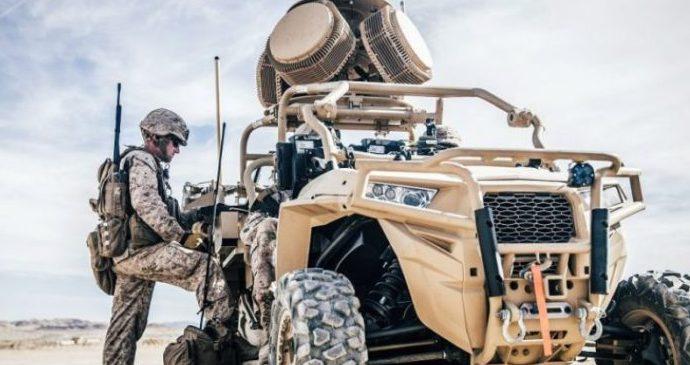 Корпус морской пехоты США тестирует лазерное оружие для борьбы с дронами