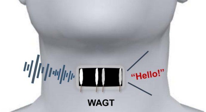 Графен нанесенный лазером на наклейку заменит немым голосовые связки