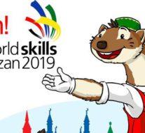 Worldskills Kazan 2019. Бесплатный сувенир с цветной лазерной гравировкой