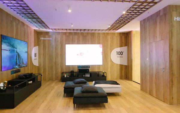 Лазерные телевизоры Hisense Trichroma™ обеспечивают качество изображения как на экране кинотеатра
