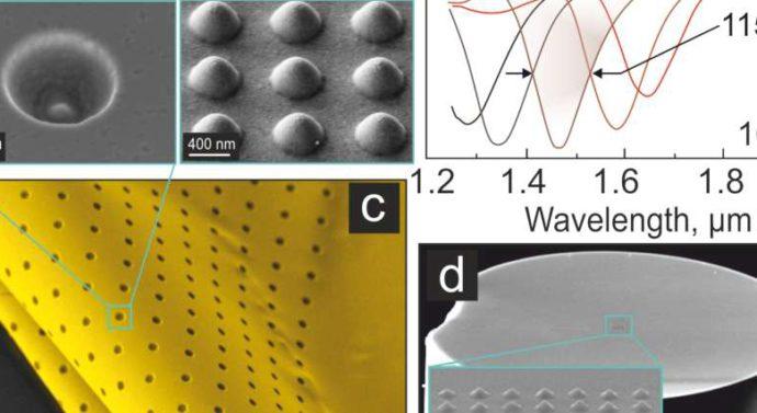Российские ученые разработали высокочувствительный сенсор из золотой нанопленки