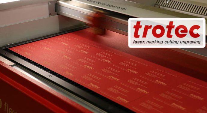 Trotec представляет обновленную версию лазерного гравера Speedy 400