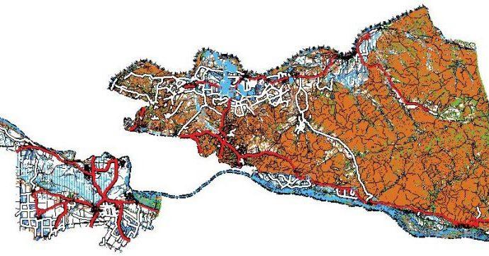 Опыт создания карт открытого пользования масштаба 1:25 000 на территорию Благовещенского района
