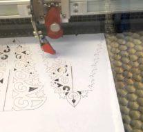 Видео: поделки на лазерном станке Trotec Speedy 100 «Елочка новогодняя из бумаги»