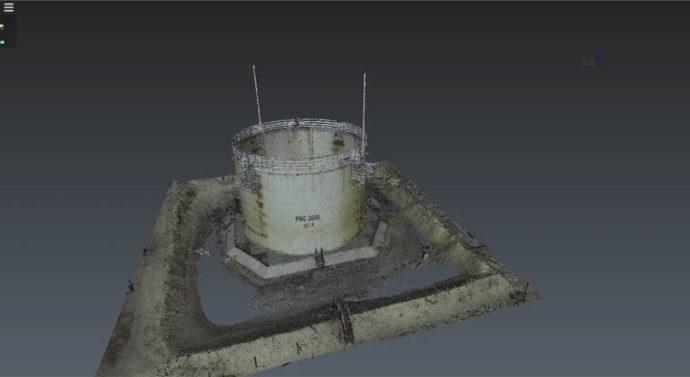 Современный метод проверки на деформации нефтеналивных резервуаров с помощью 3D лазерного сканирования