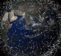 Лазеры научились находить космический мусор