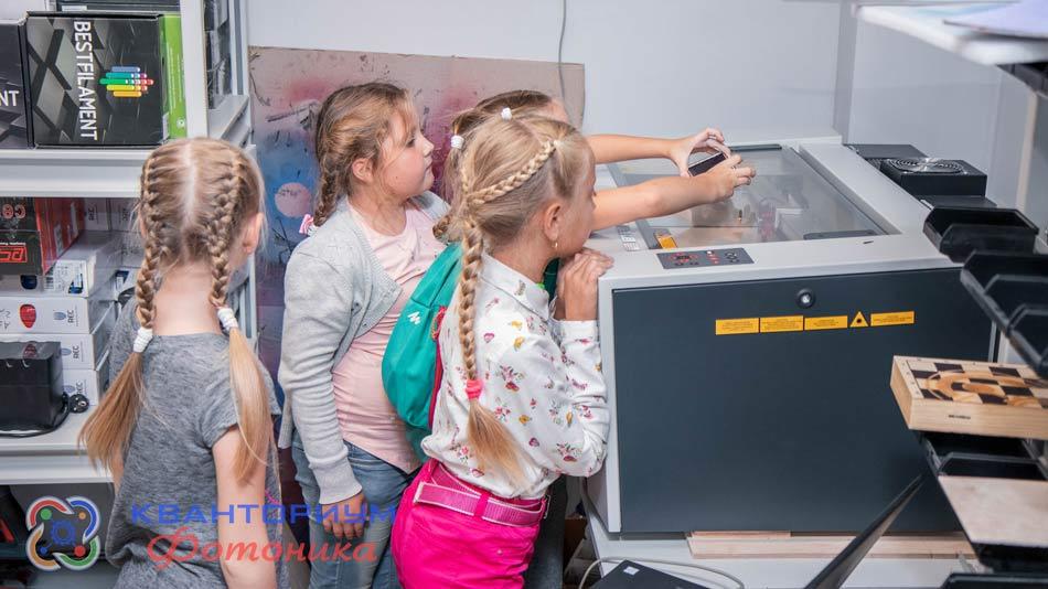 лазерный станок Trotec для детских технопарков Кванториум развивает творческие способности, безопасен, надежен