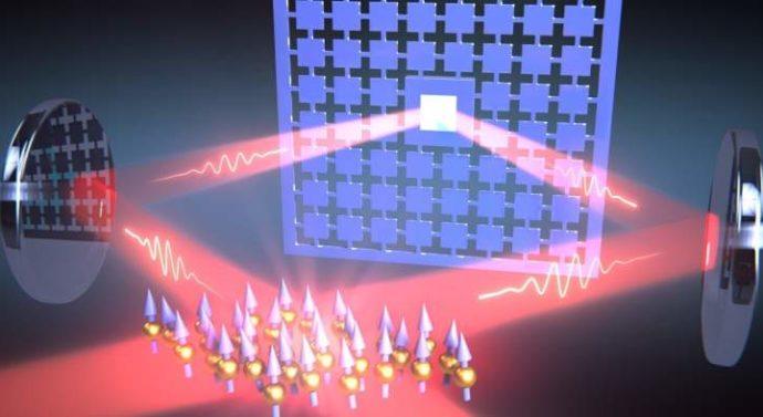 Лазер помог связать квантовые системы на большом расстоянии