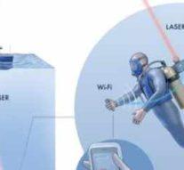 Лазеры в технологии Aqua-Fi обеспечат доступ в Интернет для ныряльщиков и устройств подводного «Интернета Вещей»