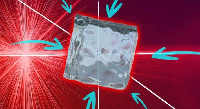 Как охладить материю лазером