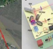 Лидар разглядел метровые детали за 45 километров