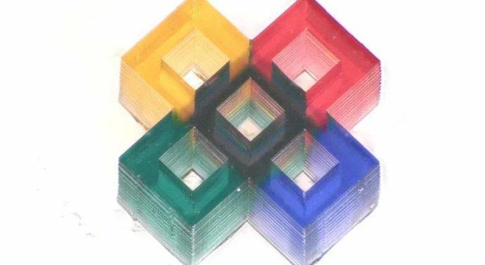 На 3D-принтере впервые напечатали разноцветные микроструктуры