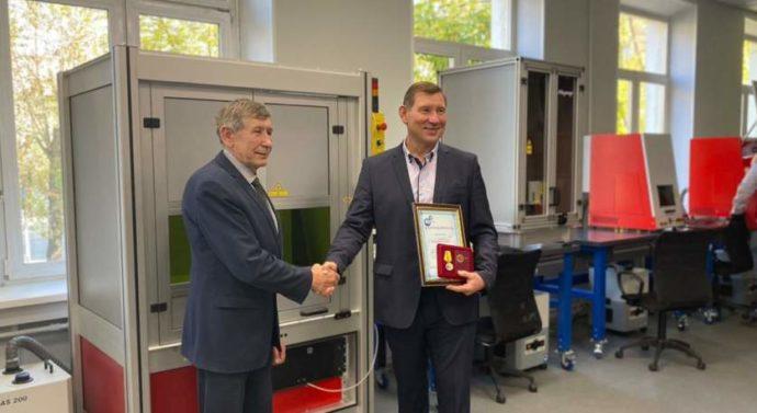 Открытие Центра лазерных технологий в Колледже современных технологий им. М. Панова