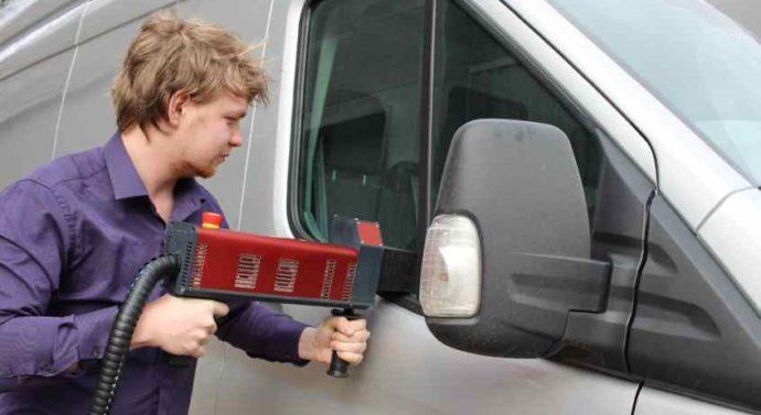 Лазерная маркировка фар — защита от кражи