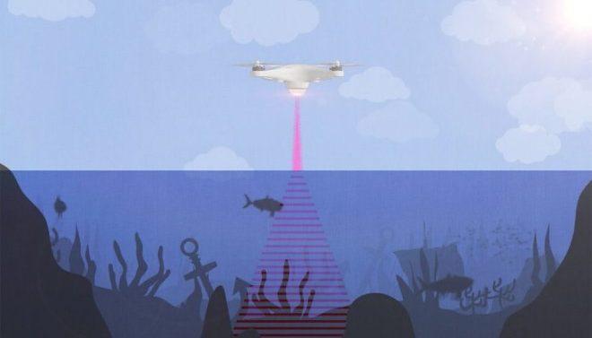 Лазерный гидролокатор разработали специалисты университета Стэнфорда