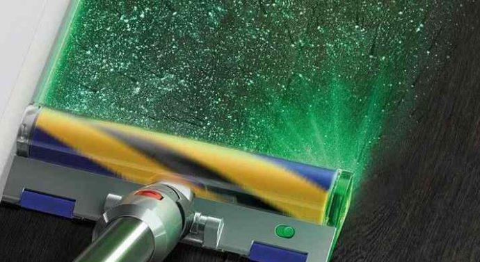 Dyson показал пылесос с лазером для подсветки пыли